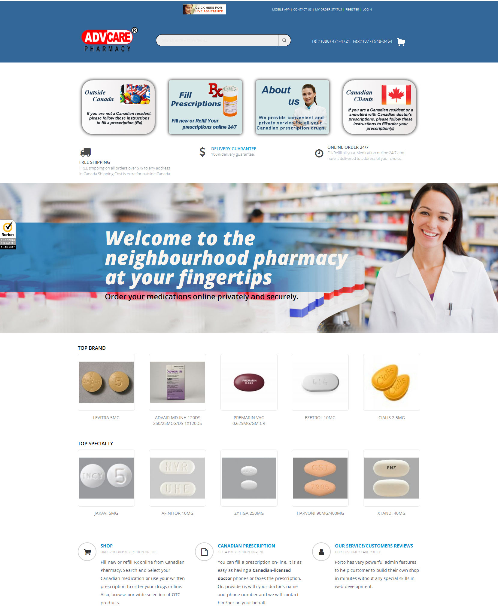 canadian pharmacy online